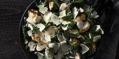 Kale Caesar Salad   Sargento Cooking Ideas, Cooking Recipes, Nail Psoriasis, Healthy Meals, Healthy Recipes, Kale Caesar Salad, Food Lab, Fabulous Foods, Calorie Diet