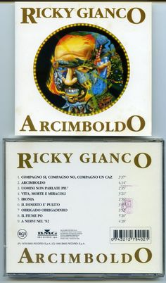 "CD01> RICKY GIANCO ""Arcimboldo"" CD - Album del 1978"