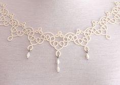 SPULNI-BLOG: Csipke nyakék - Lace jewelery
