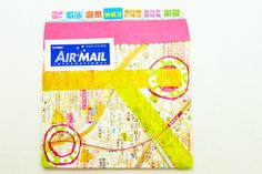 self-made envelope