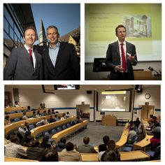 #LeedsUniBSchool welcomed René Honig, Shell Global Solutions last week for an #FTInnovation Lecture. The event was attended by academics, students, external guests and alumni.