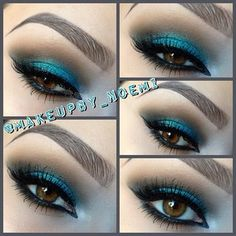 WNW Blue Had Me At Hello Palette - (Makeupby_Noemi) Instagram