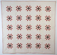 Variable Stars Quilt: Circa 1850; Pennsylvania