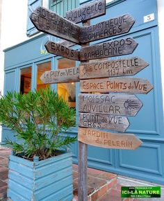 Lauzerte : pilgrimage Camino de Santiago de Compostela - Le Puy Route .