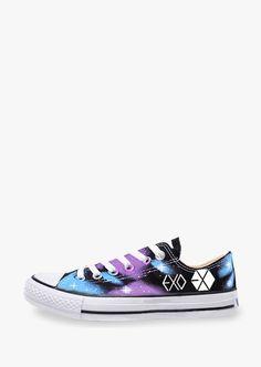 Galaxy Running Sneakers In Rainbow