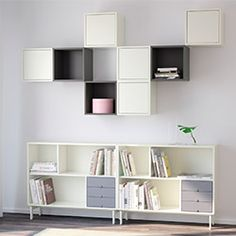 Pinned by ikea wall storage valje blocks storage pint - Cubes en bois de rangement ...