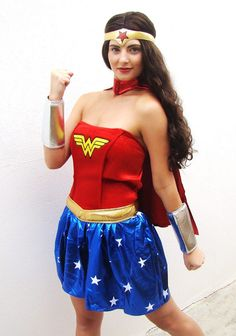 Be a superhero in our Wonder Woman costume! http://www.costumecollection.com.au/superhero-and-villain-costumes/wonder-woman-costumes/adult-official-wonder-woman-costume.html