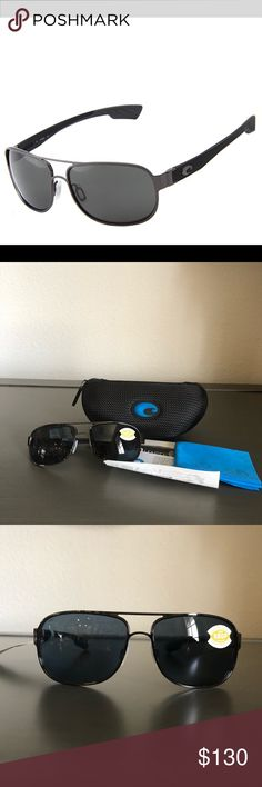 🆕Costa Conch 580P Sunglasses Black Unisex 🆕Costa Conch 580P Sunglasses unisex  NWT brand new, never been worn  Large fit  Polarized  Size 59mm Bridge size 15mm Temple 125mm Comes with case and cloth Lifetime manufacturer warranty Costa Accessories Sunglasses
