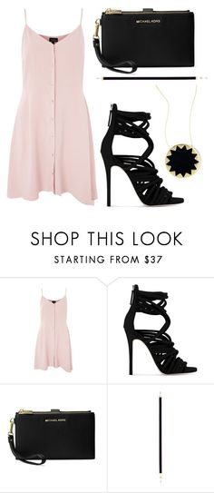 """My style"" by keren300 ❤ liked on Polyvore featuring Topshop, Giuseppe Zanotti, Michael Kors, Nouvel Heritage and House of Harlow 1960"