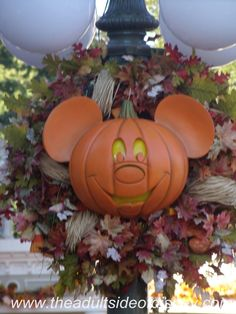 Fall Is A Great Time To Visit Walt Disney World