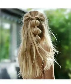 super fast and easy hairstyles for 2019 36 - hairstyles for women - . - super fast and easy hairstyles for 2019 36 – hairstyles for women – - Braided Ponytail Hairstyles, Bride Hairstyles, Hairstyle Ideas, Half Ponytail, Wedding Hairstyle, Medium Hair Styles, Curly Hair Styles, Hair Medium, Try Different Hairstyles