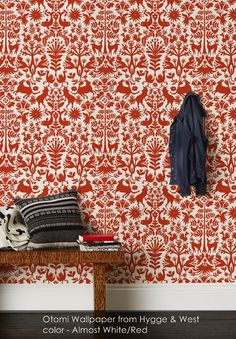 Otomi wallpaper from Hygge