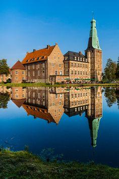 reflection by Christoph Schöter on 500px. Watercastle Raesfeld in Western Germany