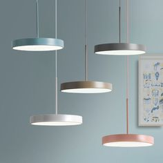 Modern Macaroon White/ Grey/ Khaki/Pink LED Suspension Kitchen Dining Table Pendant Lamp - All For Decoration Dining Table Lighting, Rustic Lighting, Light Table, Lighting Ideas, Dining Table Pendant Light, Kitchen Lighting Over Table, Club Lighting, Table Lamps, Kitchen Lamps