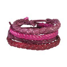 dELiAs > Savina Tonal Bracelet 4-Pack ># ($11) ❤ liked on Polyvore