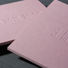 Multi-layered blind debossed invitation for designed by . Minimal Graphic Design, Graphic Design Brochure, Graphic Design Typography, Branding Design, Identity Branding, Minimal Logo, Typography Inspiration, Graphic Design Inspiration, Fashion Invitation