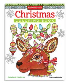 Look at this Christmas Coloring Book on #zulily today!
