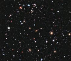 Photo of deep space from the Hubble Telescope