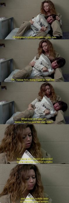 Nicky is so awesome! #OITNB