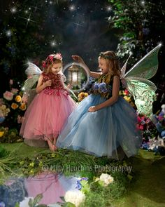 Fairies-LOVE this for the girls!!