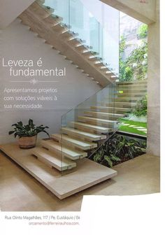 Floating stairs architecture stairways 49 ideas for 2019 Stairs Architecture, Modern Architecture, Exterior Design, Interior And Exterior, Escalier Design, Modern Stairs, Floating Stairs, Interior Stairs, House Stairs