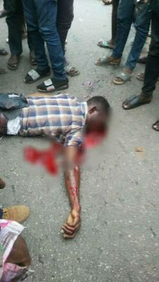 Terrible Fatal Accident In Ikorodu2 Dead(Graphic Photos)