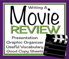 How do i write a movie review for English class?