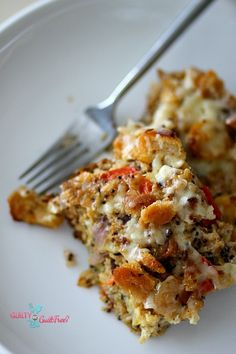 Quinoa Vege Gratin - I just leave off the bread - or substitute gluten free bread crumbs!