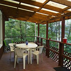 Covered Deck Ideas | Finger Lakes and Skaneateles, New York Lodging Blog » Dockside at ...