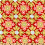 "Also from Quilted Fish's ""Delighted - Red"" from Riley Blake on sale for $7.21/yard."
