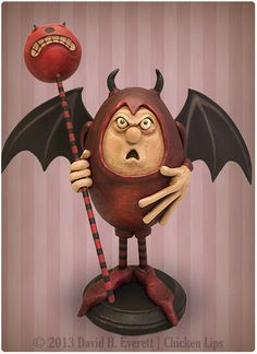 Devil Boy by Chicken Lips Folk Art, Spooky Time Jingles
