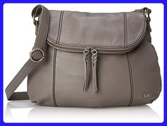 The Sak Deena Hobo Saddle Cross-Body Bag, Charcoal, One Size - Crossbody bags (*Amazon Partner-Link)