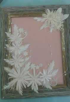Diy And Crafts, Paper Crafts, Paper Beads, Flower Designs, Quilling, Paper Flowers, Card Making, Cards, Wedding