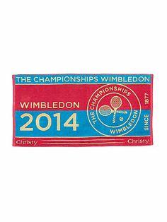 Christy Christy presents Wimbledon pink hand towel