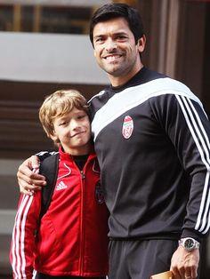 Mark Consuelos and Joaquin
