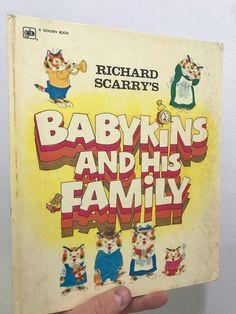 Babykins & His Family Richard Scarry's 1973 Hardcover Golden Press Richard Scarry, Illustrator, Books, Ebay, Libros, Book, Book Illustrations, Illustrators, Libri