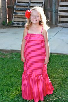Finley Gray: Afternoon Ruffle Maxi Tutorial