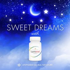 Better sleep - one of the many reasons we love #Laminine! #SweetDreams #BetterSleep