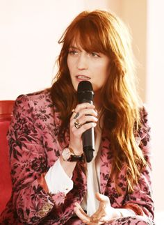 """""""Literally, a song can be about seven different things. I do think of songs almost as collages of different images, and so the references will just come from all over the place, and I don't really know how they'll all fit together until the song is finished""""- Florence"""