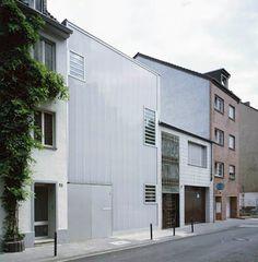 Wohn-Ateliergebäude in Köln - Fassade - baunetzwissen.de