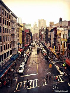 New York City street