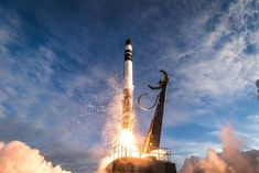 """Every rocket has a failure at some point and this probably """"hurts our pride more than anything"""", said Rocket Lab co-founder and chief executive Peter Beck of today's mission failure – the company's first after 12 successful flights.  The good news is no one was hurt - the rocket burned up on re-entering the atmosphere on a safe trajectory after an anomaly occurred in late-stage flight after takeoff from the Mahia Peninsula launch pad this morning. Flight Facilities, Nasa Rocket, Cv Online, Space Launch, Moon Missions, Service Program, Kennedy Space Center, Space Race, Apocalypse"""