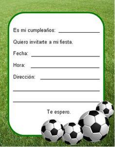 Soccer Art, Sports Party, Ideas Para Fiestas, Birthday Invitations, Leo, Baby Shower, Cards, Luigi, Soccer Party