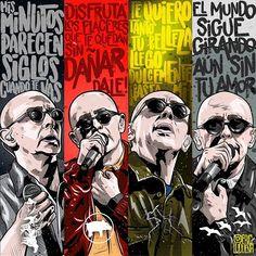 Rock Internacional, Manu Chao, Soda Stereo, India, Jim Morrison, Bob Marley, Good Vibes, Rock And Roll, Pop Art