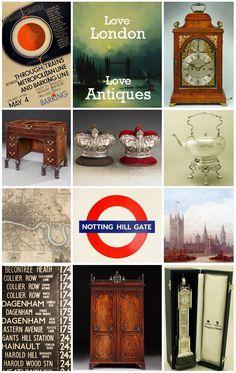 ♥ London Antiques   www.onlinegalleries.com