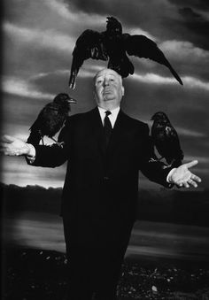 Hitchcock... a true eccentric. Makes me feel better that I'm so eccentric!