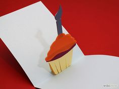 happy bday cake card pop up