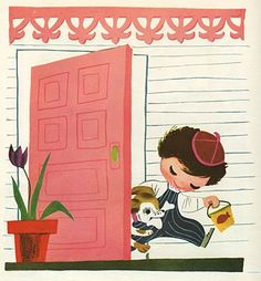 Mary Blair, from  ''Baby's House''