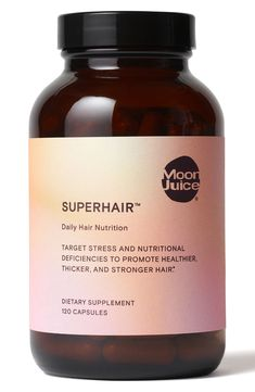 online shopping for Moon Juice SuperHair Daily Hair Nutrition Dietary Supplement from top store. See new offer for Moon Juice SuperHair Daily Hair Nutrition Dietary Supplement Natural Hair Growth Remedies, Home Remedies For Hair, Hair Loss Remedies, Best Hair Growth Vitamins, Hair Vitamins, Herbs For Hair, Dandruff Remedy, Make Hair Grow, Nordstrom