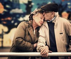 If there's anything I want to experience in my life.. Growing old with the love of my life tops it all!  Crossing my fingers & toes!